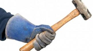 Как забить трубу в землю
