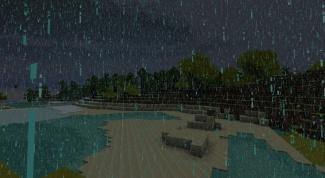 Как выключить дождь в Minecraft