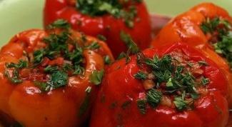Как варить перец фаршированный