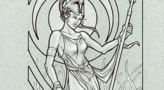 Как выглядит богиня Афина