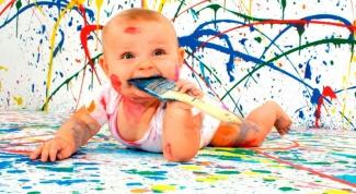 Как выводить пятна от краски