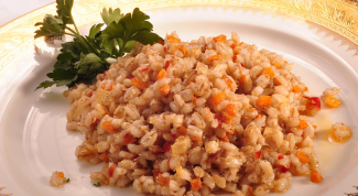 How to cook pearl barley on the side