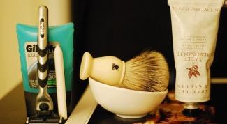 Как бриться первый раз