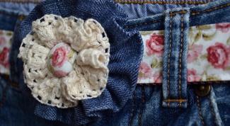 Как декорировать джинсы