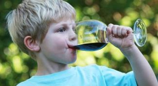 Как влияет алкоголь на детей