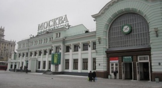 In Moscow to get to Belorussky station