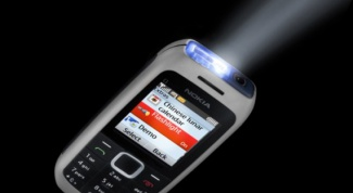 How to turn flashlight on nokia