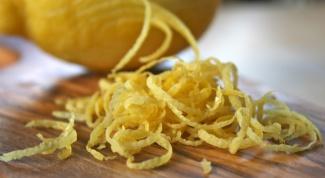 Цедра лимонная и апельсиновая: польза в хозяйстве и рецепты употребления