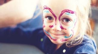 Как сделать краски для лица