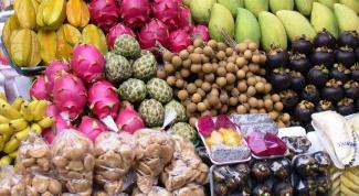 Какие фрукты нужно попробовать в Таиланде