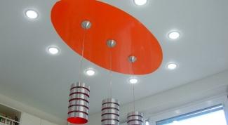 Светильники для натяжных потолков: как выбрать