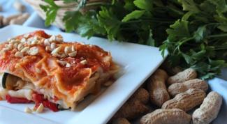 Рецепт овощной (вегетарианской) лазаньи