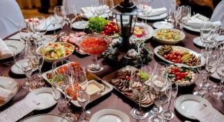 Как составить меню на свадебный банкет