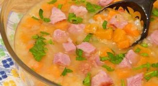 Как сварить гороховый суп с копчеными колбасками