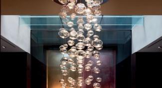 Муранское венецианское стекло в интерьере квартиры