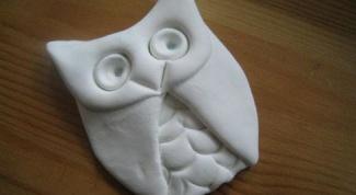 Как слепить сову из декоративного теста