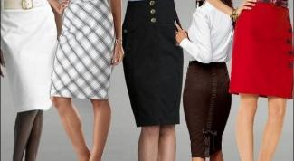 Как сочетать юбку-карандаш с другими вещами