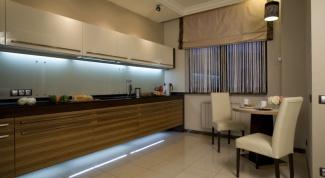 Подсветка на кухне: как провести самостоятельно