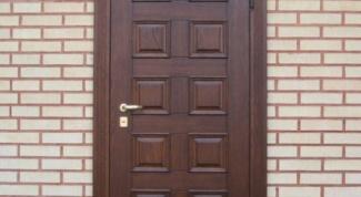 Входные двери: виды, особенности