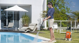 Использование в домашнем хозяйстве мойки высокого давления
