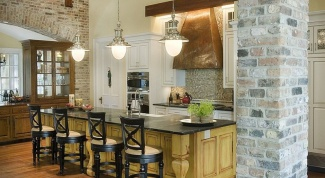 Decorative tile under a brick – features, assortment, styling methods