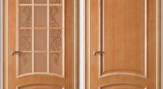 Шпонированная дверь: нюансы выбора