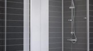 Выбор стеклянной раздвижной шторы в ванную