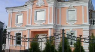 Лепной фасадный декор из полиуретана, гипса