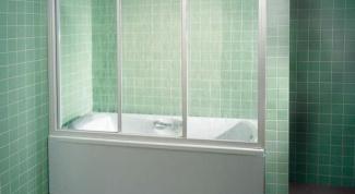 Выбор шторки для ванной