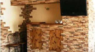 Стеновые отделочные панели под камень