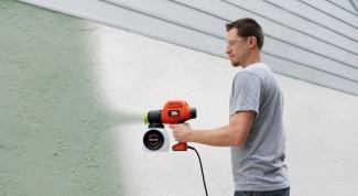 Советы по выбору электрического краскопульта
