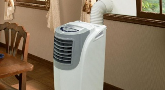 The installation of portable mobile air conditioner