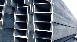 Выбор стальных балок с учетом видов и маркировки