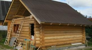 Способы постройки бани из бревен