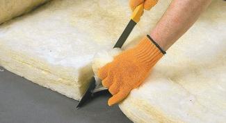 Использование минеральной ваты для утепления домов