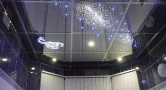 Зеркальные потолки - визуальное расширение пространства
