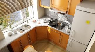 Дизайнерские решения для кухни в хрущевке