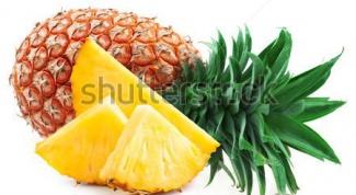 Полезные и лечебные свойства ананаса