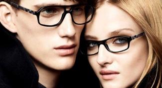 Какие в моде очки