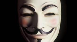 Как сделать маску Гая Фокса