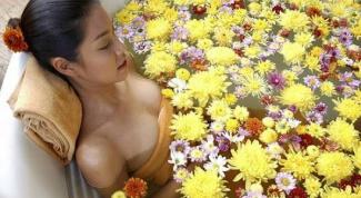 Травяная ванна против усталости