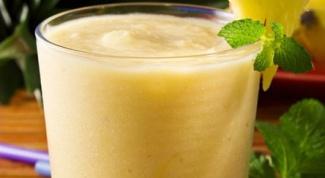 Банановый рецепт для восполнения белка
