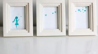 как нарисовать простую картину для трёх рамок