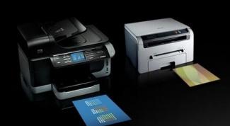 Какие бывают принтеры