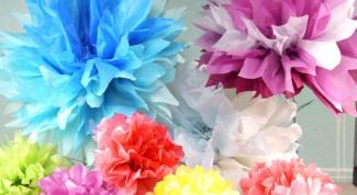 Как сделать хризантему из бумаги