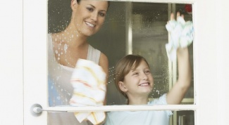 Как отмыть окна