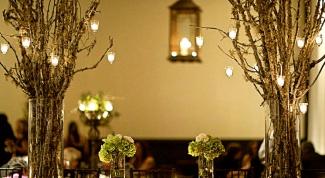 Как использовать ветки деревьев в декоре помещений