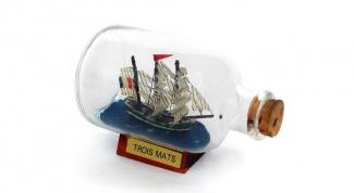 Как делать корабли в бутылках
