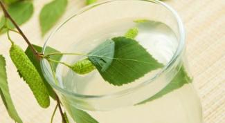 Как консервировать березовый сок