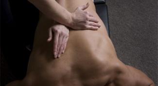 Как делать массаж при грыже позвоночника